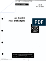 ASME PTC 30 for Air Cooler