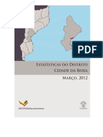 Estatisticas Do Distrito de Cidade Da Beira