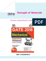 Disha Publication Mechanical Concept Notes With Exercises Strength of Materials
