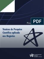 UNIDADE V - ORIENTAÇÕES PARA ELABORAÇÃO DE UM PROJETO DE PESQUISA.pdf