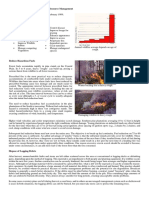 (2) Reasons for Prescribed Fire in Forest Resource Management