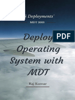 Deploy Operating Systems Using MDT 2013