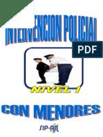 Intervencion Policial Con Menores Nivel i
