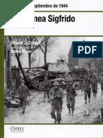 31 - En La Linea Sigfrido Alemania Septiembre de 1944