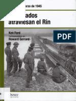 39 - Los Aliados Atraviesan El-Rin Alemania Marzo de 1945