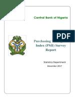 PMI Report November 2017