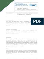 OPUS020 Configuracion de La Apariencia de Los Graficos en WINDOWS VISTA Por Aplicacion
