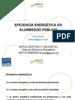 Eficiencia en Alumbrado