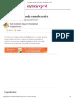 Como Fazer Barra de Cereal Caseira - Projeto Detox - GNT