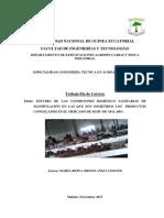 Tesis Sobre Manipulacion de Los Productos Congelados en El Mercado de Semu de Malabo