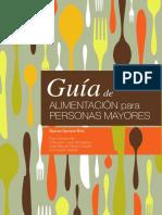 Guía de Alimentacion Para Personas Mayores - Manuel Serrano Ríos