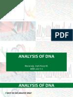 Dna Analysis