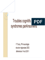 Troubles Cognitifs Syndromes Parkinsoniens Torny2011