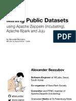 Mining Public Datasets