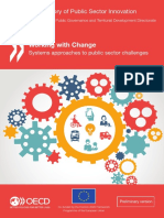 Working With Change Systems Approaches to Public Sector Challenges
