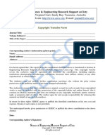 SERSC Journal Copyright Form