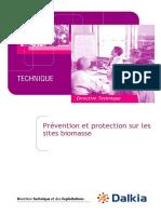 Biomasse_prévention Et Protection Sites