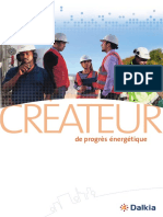 Brochure_dalkia, Créateur de Progrès Énergétique