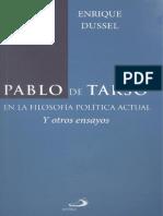 Dussel, E. Pablo de Tarso