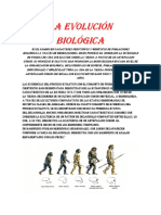 evolucion biologica