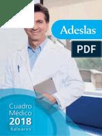 Cuadro Adeslas 2018