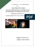 Clase de Fisica 3 Optica Leyes de La Reflexion y Espejos Concavos