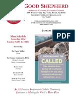 Bulletin 1-21-18