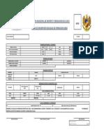 Ficha de Inscripcion 2018 INSDEPORTES Cajicá