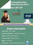 Prepare Cisco 200-105 Dumps Final Exam   Dumps4download.us