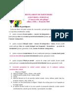 Regulament de Participare Concurs O Masca... 2018