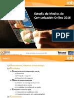 Estudio Medios de Comunicación Digitales 2016 Abril 2016 IAB VCorta1