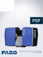 e1086 Faro Laser Scanner Focus3dx 330 Manual En