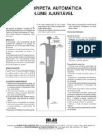 Micropipetas Ajustáveis Paper