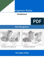 Manajemen Risiko - Pendahuluan