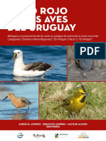 Libro Rojo Aves de Uruguay