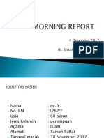 Dr Shanti Morning Report
