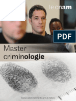 Master Criminologie 4P 2016