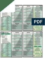 Tarjeta Análisis en Terreno Imprimible Díptico