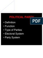 Introduction to Political Science - Lecturer 7