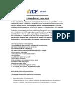 Competencias Principais Da ICF 2012