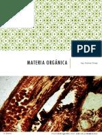 Materia Orgánica