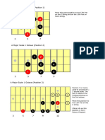 01. a Major Scale 1 Octave