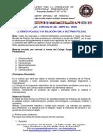 Edicion Especial Gmpo 00005 La Ciencia Policial y Su Reaccion Con La Doctrina Policial