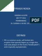 Pityriasis Rosea Slide