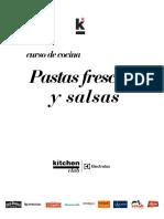 recetas Curso Pastas Frescas y Salsas Agosto