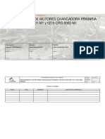 PME-0210-01 Mantto. Motor Principal Chancadora Primaria_Rev. D