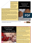 curriculum and instructional resources for families