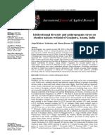 ICHTHYOFAUNAL DIVERSITY AND ANTHROPOGENIC STRESS ON  NAITARA-CHAUTARA WETLAND OF GOALPARA, ASSAM, INDIA.