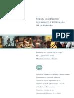 2 Salud Crecimiento Economico y Reduccion de La Pobreza