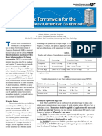 Using Terramycin for the Prevention of American Foulbrood